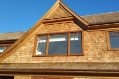 New shingle preservation - Clear finish